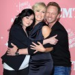 Shannen Doherty, Jennie Garth, Ian Ziering — Stock Photo