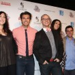 Jodie Sweetin, Daria Polantin, Peter Porte, Peter Paige, Kate Payne, David Krumholtz, Aimee Garcia — Stock Photo