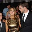 Постер, плакат: Josh Hutcherson Jennifer Lawrence Liam Hemsworth