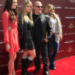 Michael Chiklis, wife Michelle, daughters Autumn, Odessa - Stock Photo