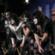 KISS, Vince Neil, Nikki Sixx — Stock Photo