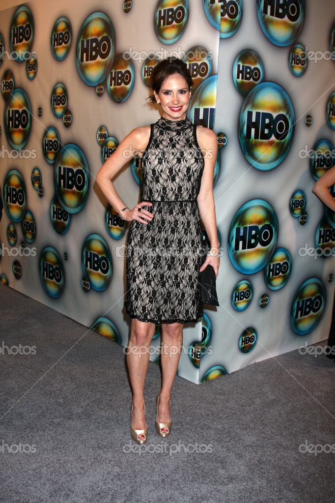 LOS ANGELES - JAN 15:  Ashley Jones arrives at  the HBO Golden Globe Party 2012 at Beverly Hilton Hotel on January 15, 2012 in Beverly Hills, CA — Stock Photo #11704930