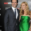 Jon Hamm, Jennifer Westfeldt — Stock Photo #11711694