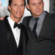 Matthew McConaughey, Channing Tatum — Stock Photo