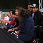 ������, ������: Justin Bieber meeting Jackson Family