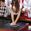 Prince Michael Jackson, II aka Blanket Jackson, Paris Jackson — Stock Photo