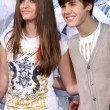 Paris Jackson,  Justin Bieber — Stock Photo