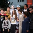 Guests, Family, Prince Michael Jackson, Prince Michael Jackson, II aka Blanket Jackson, Paris Jackson — Stock Photo