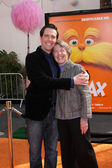 Ed Helms, mother — Stock Photo