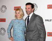 January Jones, Jon Hamm — Stock Photo