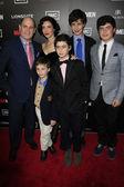 Matthew Weiner, family — Stock Photo