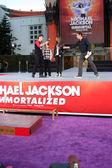 Prince Michael Jackson, Prince Michael Jackson, II aka Blanket Jackson, Paris Jackson — Stock Photo