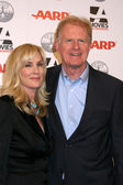 Ed Begley Jr, wife — Stock Photo
