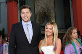 Scott Speer, Ashley Tisdale — Stock Photo