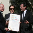Stock Photo: Tom LeBonge, Paul McCartney, Eric Garcetti
