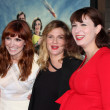 Lorene Scafaria, Drew Barrymore, Diablo Cody — Stock Photo