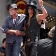 Charlie Sheen, Slash - Lizenzfreies Foto