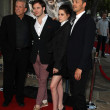 Stock Photo: Producer Joe Roth, actors Sam Claflin and Kristen Stewart and di