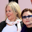 Beverly D'Angelo, Carrie Fisher - Stock Photo