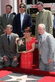 Ray Romano, Patricia Heaton, Neil Flynn, Leron Gubler, Tom LaBonge — Stock Photo