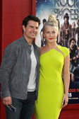 Tom Cruise, Julianne Hough — Stock Photo