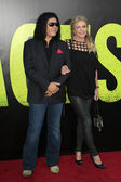 Gene simmons, shannon tweed — Stockfoto
