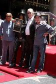 Robert Evans, Slash, Jim Ladd, Charlie Sheen — Stock Photo