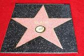 Promenade de la barre oblique de star célébrité — Photo