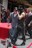 Charlie Sheen, Slash — Foto de Stock