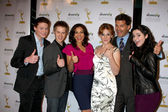 Switched at Birth Cast - L-r: Sean Berdy, Lucas Grabeel, Const — Stock Photo