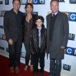 Tim Kring, Gugu Mbatha-Raw, David Mazouz, Kiefer Sutherland - Stock Photo