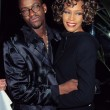 Bobby Brown, Whitney Houston — Stock Photo