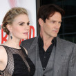 Anna Paquin, Stephen Moyer — Stock Photo