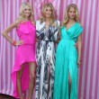 Lindsay Ellingson, Doutzen Kroes and Erin Heatherton - Foto Stock