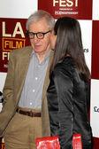 Woody Allen, Soon-Yi Previn — Stock Photo