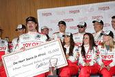 Kim Coates & Racers — Stock Photo