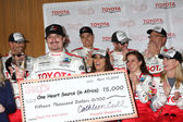 Kim Coates and Racers — Stock Photo