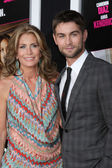 Chace Crawford, mom? — Stock Photo