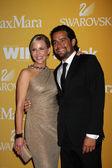 Julie Benz, husband — Stock Photo