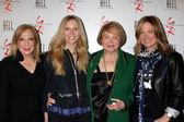 Judy Blye Wilson, Lauralee Bell, Lee Bell, Maria Arena Bell — Stock Photo