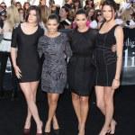 Kylie Jenner, Kourtney Kardashian, Kim Kardashian, & Kendall Jenner — Stock Photo