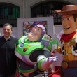 Bob Iger, Buzz Lightyear and Woody — Stock Photo #11753164