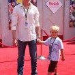 Stock Photo: Erik Von Detten and Nephew Jake