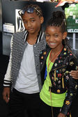 Jaden Smith & Willow Smith — Stockfoto
