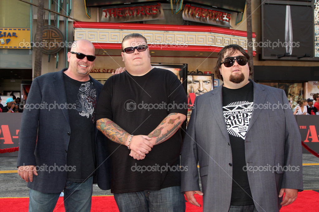 Pawn Stars (order not identified but includes Corey Harrison, Richard