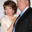 Shirley MacLaine, Julian Fellowes - Stockfoto