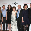 Downton Abbey Cast and Execs - Stok fotoğraf