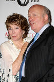 Shirley MacLaine, Julian Fellowes — Stock Photo