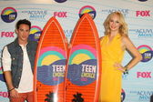 Michael Trevino, Candice Accola — Stock Photo