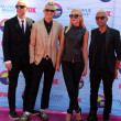Tom Dumont, Adrian Young, Gwen Stefani, Tony Kanal — Stock Photo